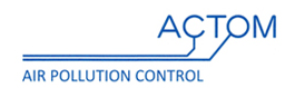 actom air polution control logo